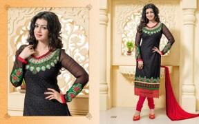 Blissta Georgette Embroidered Salwar Suit For Women - ktarzan04