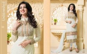 Blissta Georgette Embroidered Salwar Suit For Women - ktarzan06
