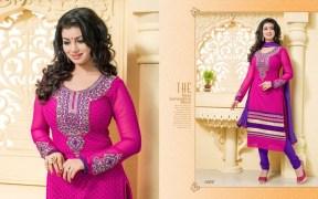 Blissta Georgette Embroidered Salwar Suit For Women - ktarzan08