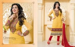 Blissta Georgette Embroidered Salwar Suit For Women - ktarzan07