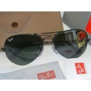 aviator black with green  sunglass