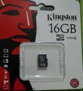 Kingston 16 GB Micro SD Card Class 4