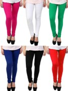 Megha Women Leggings Combo 0f 06