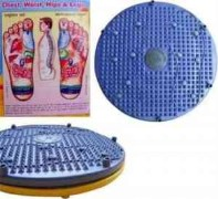 Body Fitness Twister 4 in 1 cum Accupressure Mat