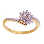 Saloni Jewels Gold 18kt Wedding & Engagement Ring LR-406