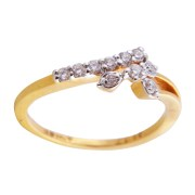 Saloni Jewels Gold 18kt For Wedding & Engagement Ladies Ring LR-353