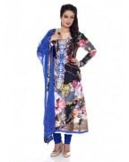 Charming Georgette Churidar Kameez For Women - CG-3704
