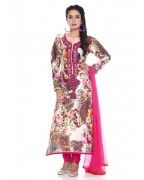Charming Georgette Digital Printed Salwar Kameez For Women - CG-3705A