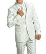 Gwalior White Suitings Suit Length For Men - gw101