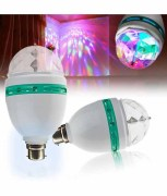 disco light led bulb full color rotating lamp